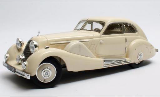 Mercedes 500 1/18 Matrix K Spezial Stromlinienwagen (W29) blanche 1935 Tan Tjoan Keng