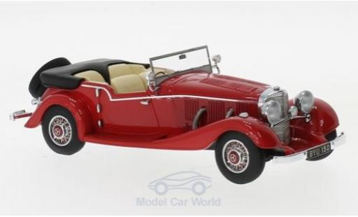 Mercedes 500 1/43 Matrix K Tourer Mayfair rouge RHD 1934 miniature