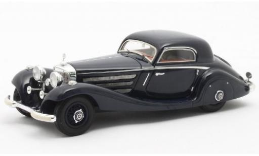 Mercedes 540 1/43 Matrix K (W29) Spezial Coupe bleue 1936 Fahrgestell-Nr.154139 miniature