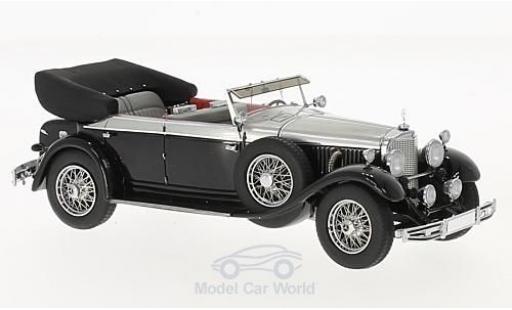 Mercedes 770 1/43 Matrix K (W07) Cabriolet D black/grey 1930 diecast