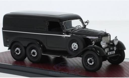 Mercedes G4 1/43 Matrix (W31) Kastenwagen noire 1939 miniature