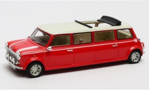 Mini Cooper 1/43 Matrix Limousine rouge/blanche RHD 1995 miniature