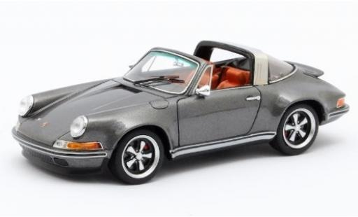 Porsche 911 1/43 Matrix Targa Singer Design metallise grey diecast model cars