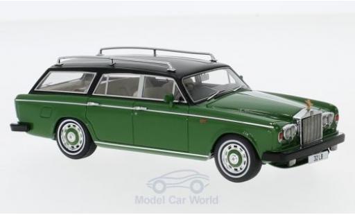 Rolls Royce Silver Shadow 1/43 Matrix Panelcraft Estate verte/noire RHD 1980 miniature