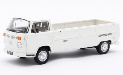 Volkswagen T2 1/43 Matrix Kemperink Special Pick-Up LWB white RHD 1976 diecast model cars