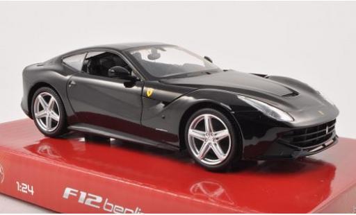 Ferrari F1 1/24 Mattel 2 Berlinetta schwarz modellautos