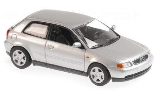 Audi A3 1/43 Maxichamps (8L) grise 1996 miniature