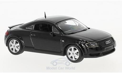 Audi TT coupe 1/43 Maxichamps Coupe negro 1998 miniatura