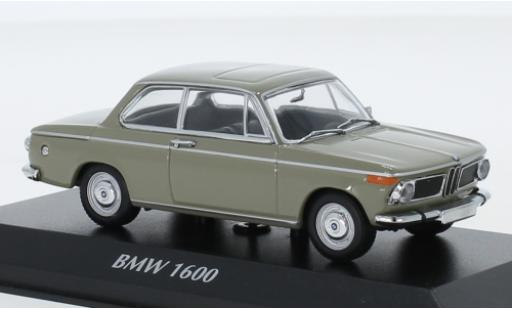 Bmw 1600 1/43 Maxichamps beige 1968 diecast model cars