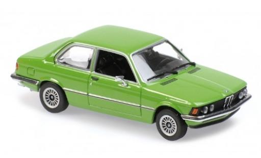 Bmw 323 1/43 Maxichamps i (E21) green 1975 diecast model cars