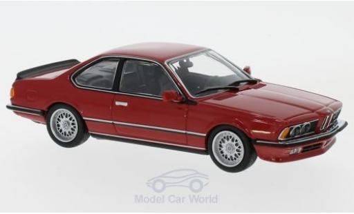 Bmw 635 CSI 1/43 Maxichamps 635 CSi (E24) rouge 1982 miniature