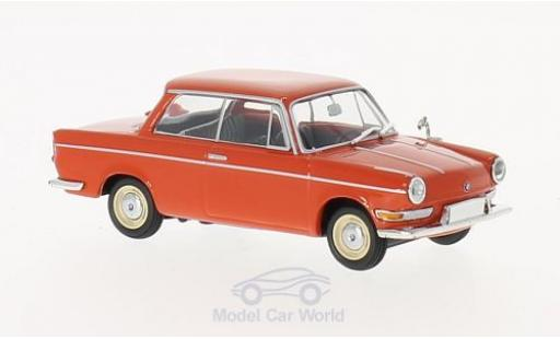 Bmw 700 1/43 Maxichamps LS rouge 1960 miniature