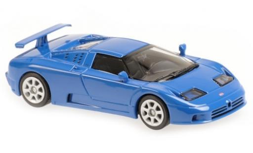 Bugatti EB110 1/43 Maxichamps EB 110 blue 1994 diecast model cars