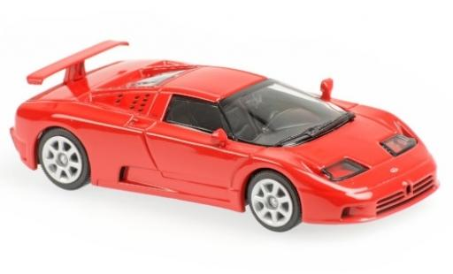 Bugatti EB110 1/43 Maxichamps EB 110 red 1994 diecast model cars