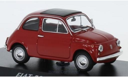 Fiat 500 1/43 Maxichamps L red 1965 diecast
