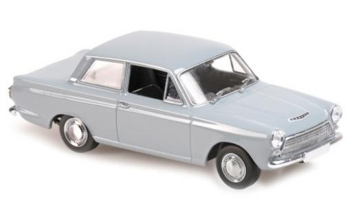 Ford Cortina 1/43 Maxichamps MkI grise RHD 1962 miniature