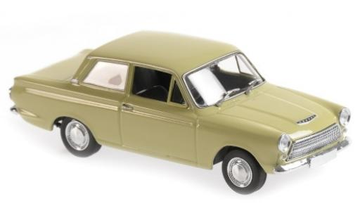 Ford Cortina 1/43 Maxichamps MkI verte RHD 1962 miniature