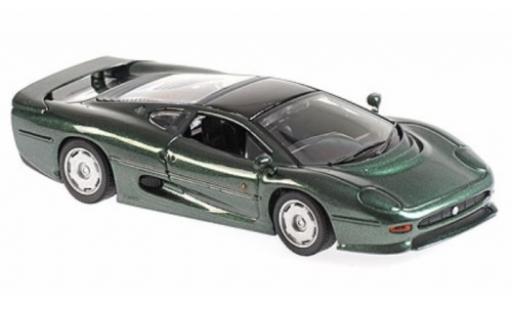 Jaguar XJ 1/43 Maxichamps 220 metallise green RHD 1991 diecast model cars