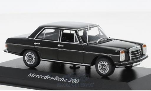 Mercedes 200 1/43 Maxichamps black 1968 diecast model cars