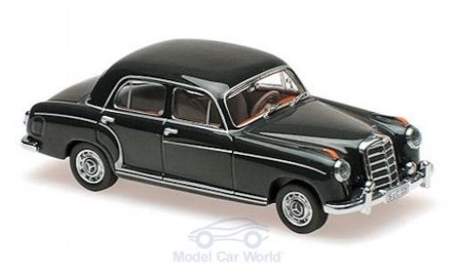 Mercedes 220 1/43 Maxichamps S verte 1956 miniature