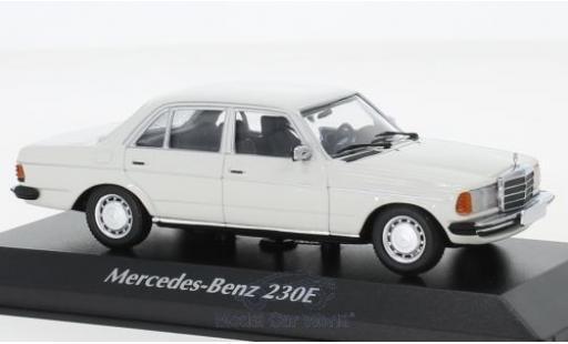 Mercedes 230 1/43 Maxichamps E (W123) blanche 1982 miniature