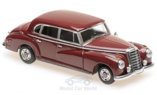 Mercedes 300 1/43 Maxichamps red 1951 diecast model cars