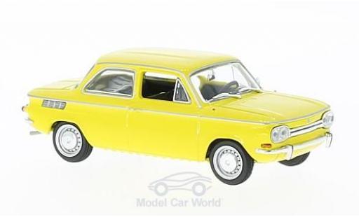 NSU TT 1/43 Maxichamps yellow 1967 diecast