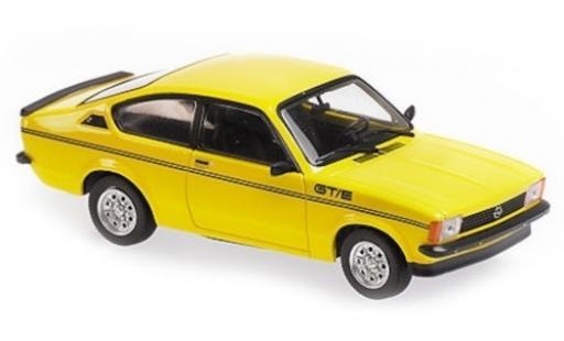Opel Kadett 1/43 Maxichamps C GT/E jaune 1978 miniature