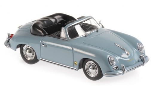 Porsche 356 1/43 Maxichamps A Cabriolet bleue 1956