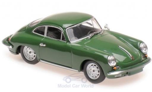 Porsche 356 1/43 Maxichamps C Carrera 2 green 1963 diecast