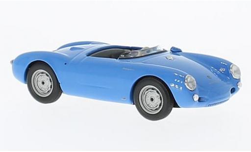 Porsche 550 1/43 Maxichamps Spyder bleue 1955 miniature