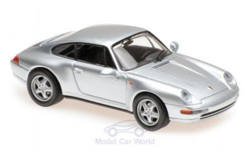 Porsche 911 1/43 Maxichamps (993) grise 1993 miniature