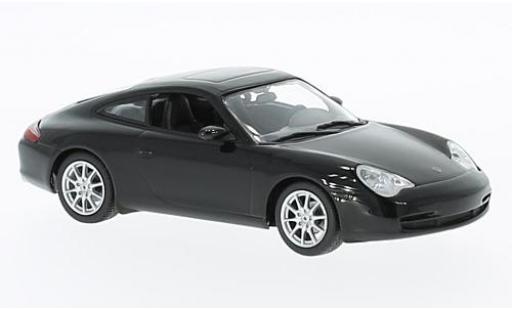 Porsche 996 1/43 Maxichamps 911  Carrera noire 2001