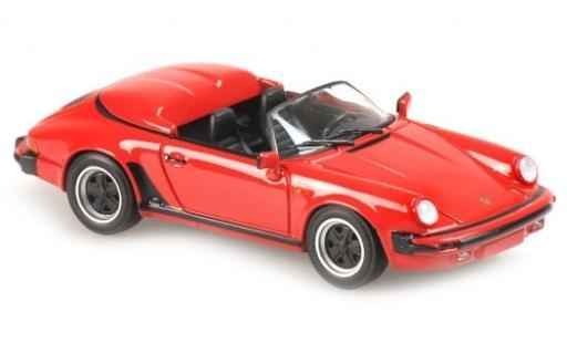 Porsche 930 Speedster 1/43 Maxichamps 911 rouge 1988 miniature