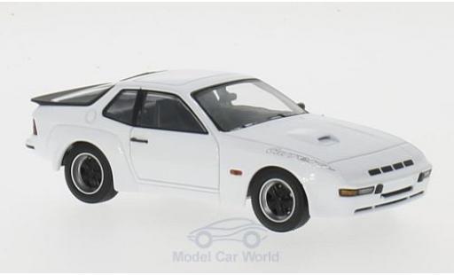 Porsche 924 1981 1/43 Maxichamps Carrera GT blanche miniature