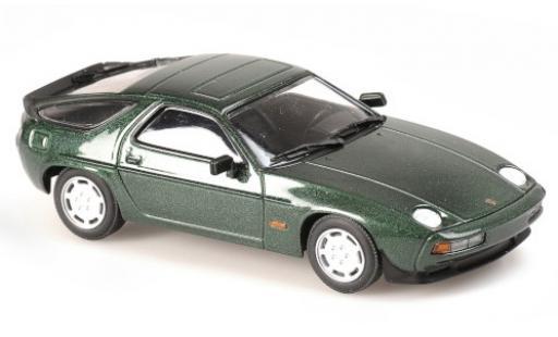 Porsche 928 1/43 Maxichamps S metallise green 1979 diecast model cars