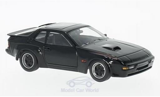 Porsche 924 1/43 Maxichamps Carrera GT noire 1981 miniature