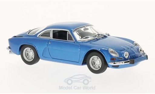 Alpine A110 1/43 Maxichamps Renault metallic blue 1971 diecast
