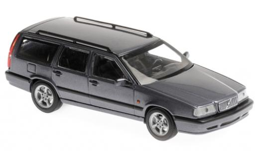 Volvo 850 1/43 Maxichamps Break metallise bleue 1994 miniature