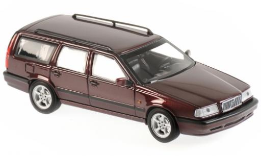 Volvo 850 1/43 Maxichamps Break metallise rouge 1994 miniature