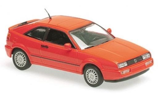 Volkswagen Corrado 1/43 Maxichamps G60 rouge 1990 miniature