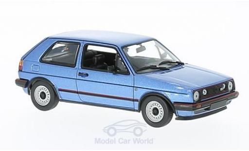 Volkswagen Golf V 1/43 Maxichamps II GTI metallise bleue 1985 miniature