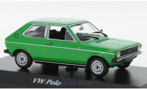 Volkswagen Polo 1/43 Maxichamps green 1979 diecast