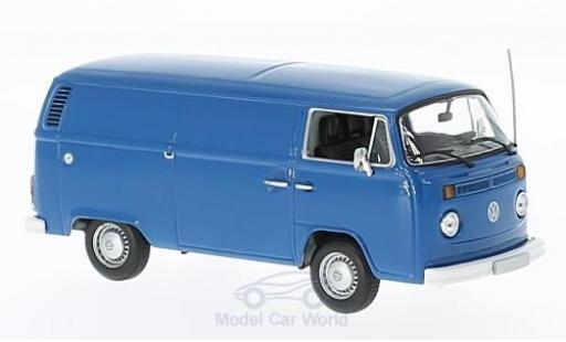 Volkswagen T2 B 1/43 Maxichamps blue 1972 Kastenwagen diecast