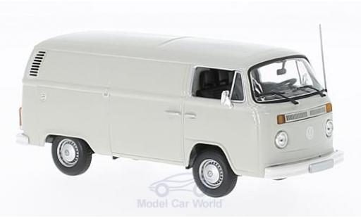 Volkswagen T2 A 1/43 Maxichamps grise 1972 Kastenwagen miniature