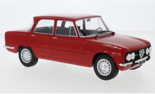 Alfa Romeo Giulia 1/18 MCG Nuova Super red 1974 diecast model cars
