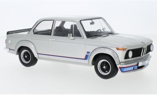 Bmw 2002 1/18 MCG Turbo grigio 1973