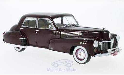 Cadillac Fleetwood 1/18 MCG Series 60 Special Sedan rouge 1941 miniature