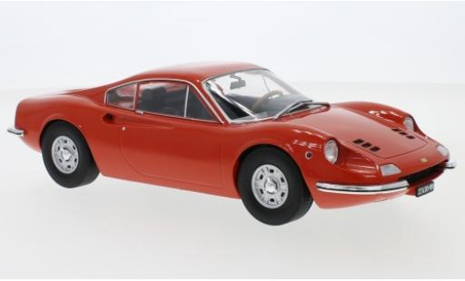 Ferrari Dino 1/18 MCG 246 GT orange 1969 miniature