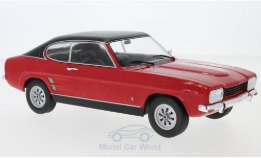 Ford Capri 1/18 MCG MKI 1600 GT rouge/noire 1973 miniature